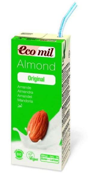 LOGO_EcoMil Almond milk agave Bio 1 L