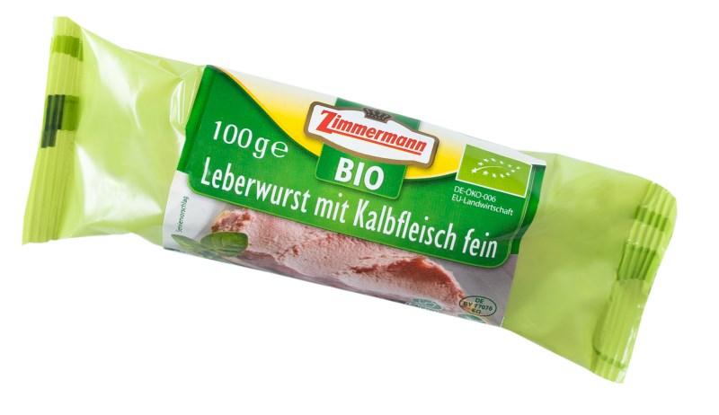 LOGO_Bio Leberwurst mit Kalbfleisch, fein
