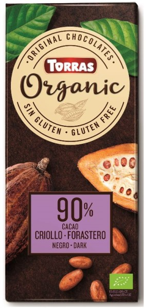 LOGO_ORGANIC CHOCOLATE 90% COCOA