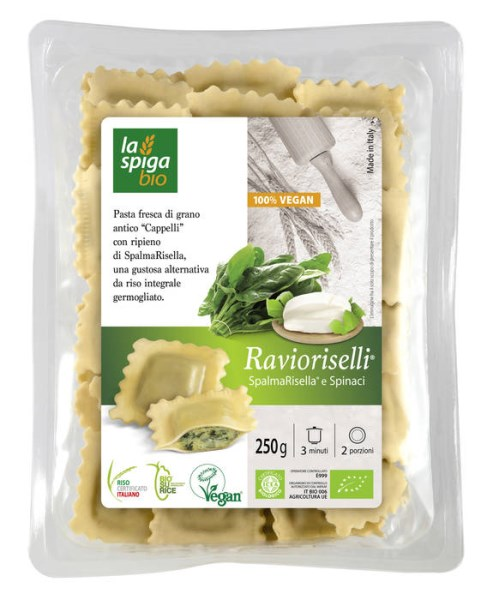 LOGO_RSS - Ravioriselli® CreamyRisella® und Spinat VEGAN