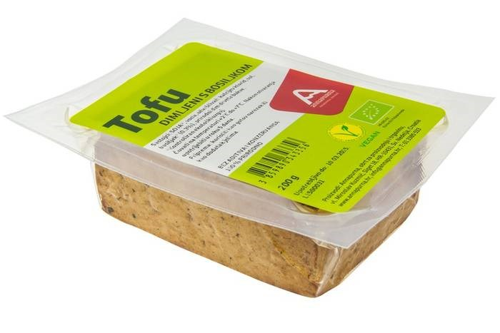 LOGO_Smoked tofu with basil