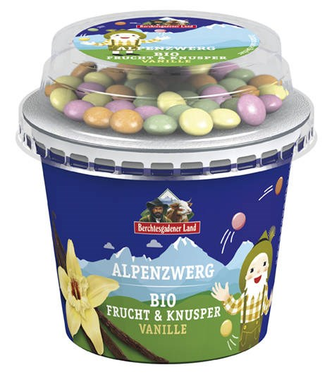 LOGO_Alpenzwerg Organic Fruit & Crunchy Yogurt Vanilla with Chocolate Beans