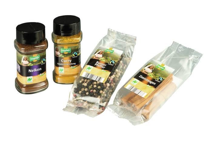 LOGO_Bio Gewürze Naturland und Fairtrade zertifiziert