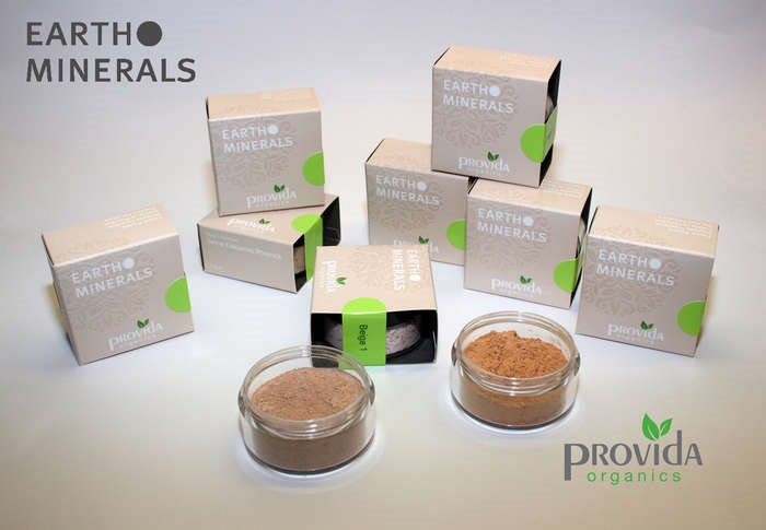 "LOGO_""Provida EARTH MINERALS Make-Up Mineralpuder -rein vegan"""