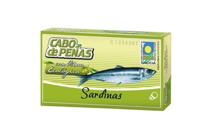 LOGO_SARDINES IN ORGANIC EXTRA VIRGIN OLIVE OIL