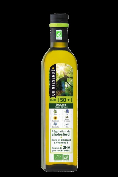 LOGO_Organic cooking oil blend rich in DHA and Omega-3 for adults over 50 years