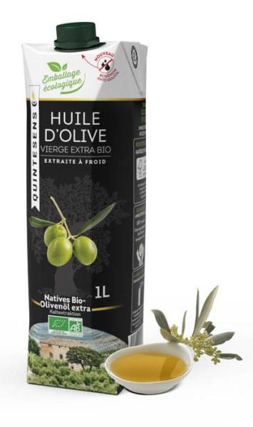 LOGO_Natives BIO-Olivenöl extra in innovativer, umweltfreundlicher Tetra Prisma-Kartonflasche