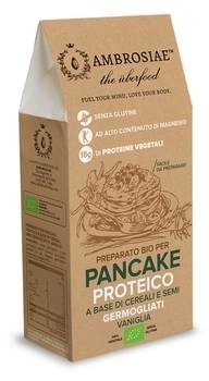 LOGO_Pancake mix with sprouted seeds and grains