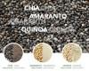 LOGO_Organic gluten-free seeds and flours: Quinoa, Amaranth, Chia
