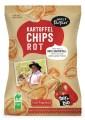 LOGO_Potato chips red, salty with paprika, fair+bio, vegan, Naturland Fair certified, 100g