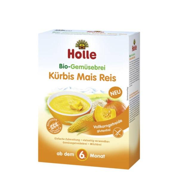 LOGO_Holle Organic Vegetable Porridge Pumpkin Maize Rice