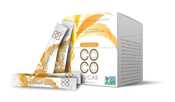 LOGO_Coconut Sugar in Sachet Packaging