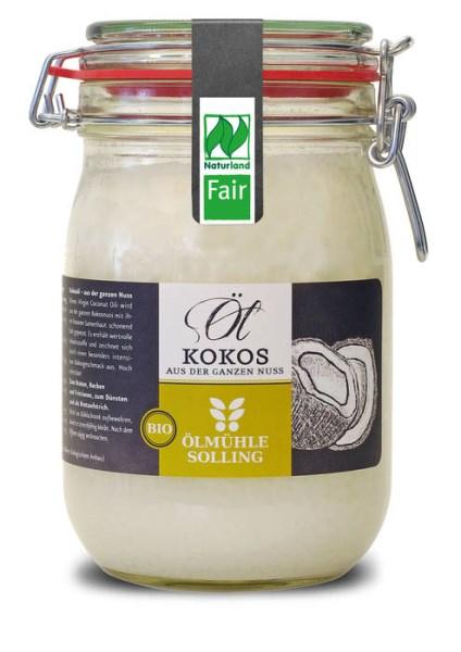 LOGO_Coconut oil virgin, naturland fair