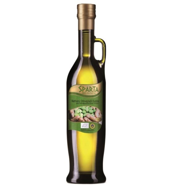 LOGO_Sparta Olivenöl Extra nativ, 500 ml, bio