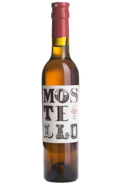 LOGO_Mostello 2007, Organic Pear Dessert Wine