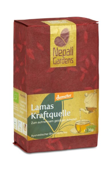 LOGO_Lamas Kraftquelle DEMETER Ayurveda Herbal-Tea