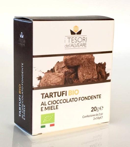 LOGO_ORGANIC TRUFFLES WITH CHOCOLATE AND HONEY
