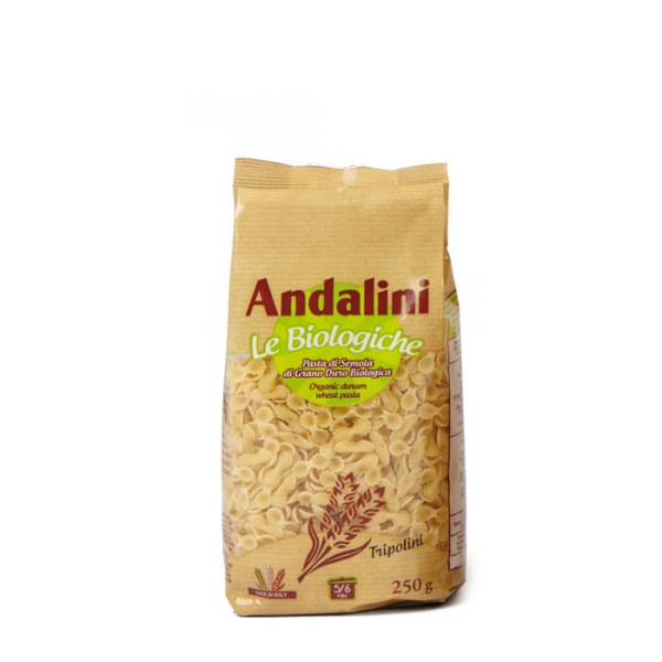 "LOGO_ANDALINI ""LE BIOLOGICHE"" – ORGANIC BROTH DURUM WHEAT PASTA"
