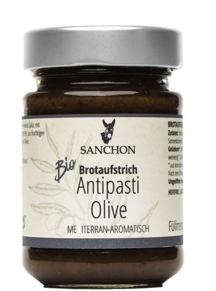 """LOGO_""""Brotaufstrich Antipasti Olive mediterran-aromatisch"""""""