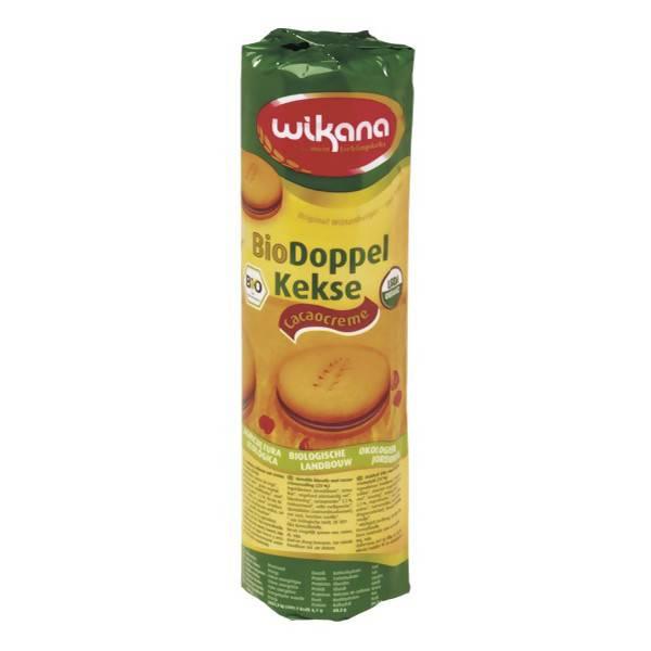 LOGO_Bio Weizen Doppelkeks mit Kakaocreme, 330 g