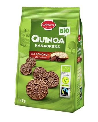 LOGO_Bio Fairtrade Quinoa Kakaokeks, vegan, 125 g