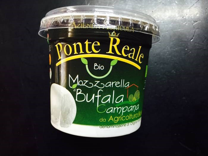 LOGO_Mozzarella di bufala bio D.O.P.- Soft Cheese of organic buffalo milk from DOP area