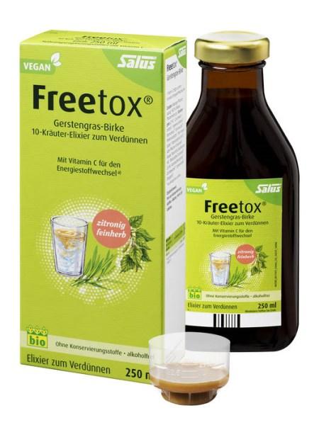 LOGO_Freetox® Gerstengras-Birke 10-Kräuter-Elixier zum Verdünnen bio 250ml