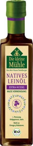 LOGO_BIO Leinöl EXTRA-NUSSIG, kalte Verwendung