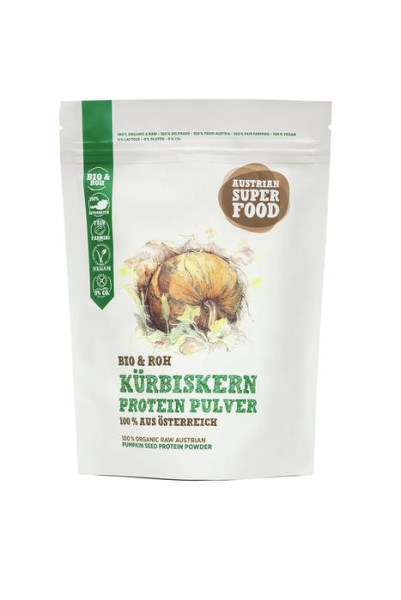 LOGO_Organic RAW Austrian Pumpkin Seed Protein Powder