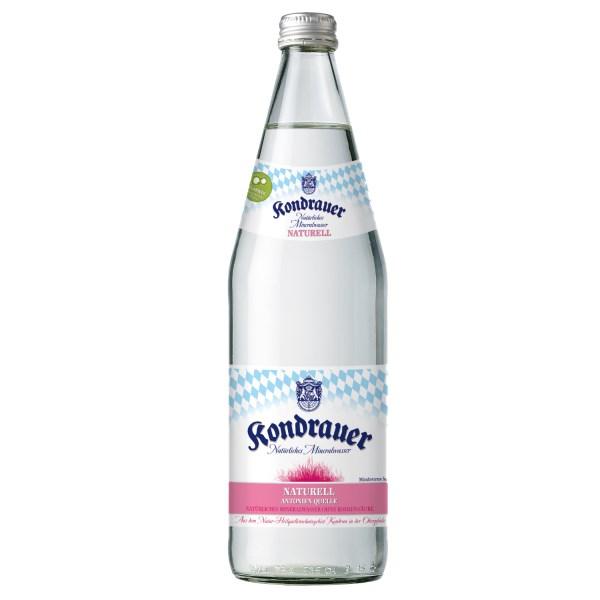 """LOGO_Kondrauer Mineralwasser """"NATURELL"""""""