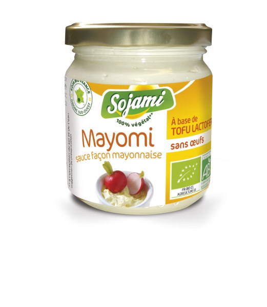 LOGO_VEGAN SAUCE - MAYOMI - USE AS A MAYONNAISE