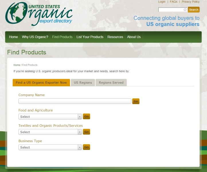 LOGO_US Organic Products Directory