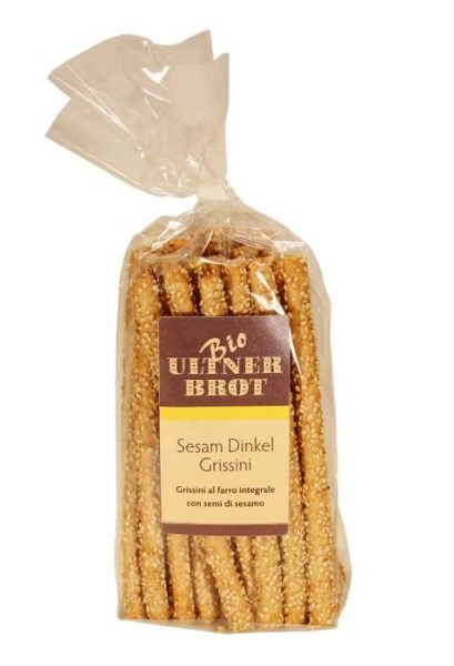 LOGO_Bread sticks made of whole grain spelt with sesam seed