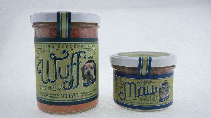 """LOGO_Wuff & Mau """"Bio Vital"""""""