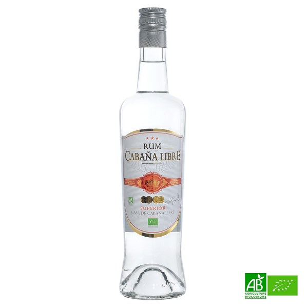 """LOGO_Organic whithe rum """"Cabana Libre"""""""
