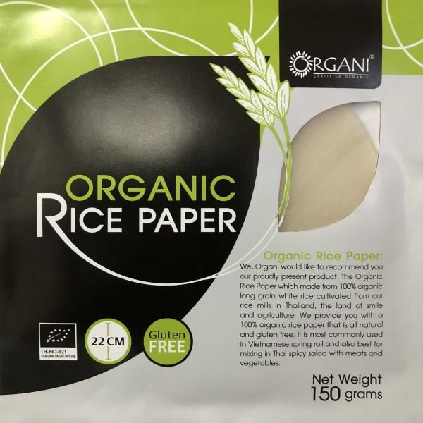LOGO_Organic Rice Paper
