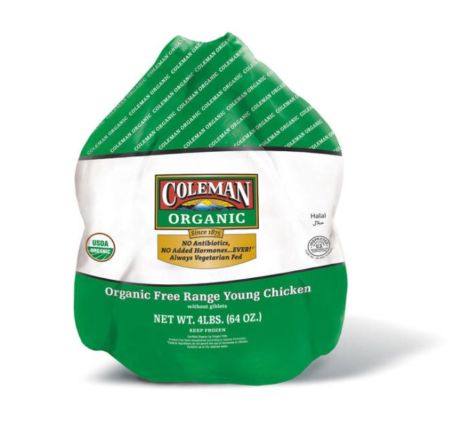 LOGO_COLEMAN ORGANIC® WHOLE CHICKEN WITHOUT GIBLETS