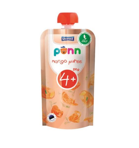 LOGO_Organic mango purée 100 g