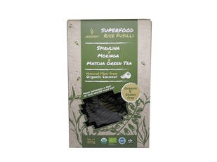 LOGO_Gluten-Free Superfood Rice Pasta - Spirulina, Moringa, & Matcha Green Tea