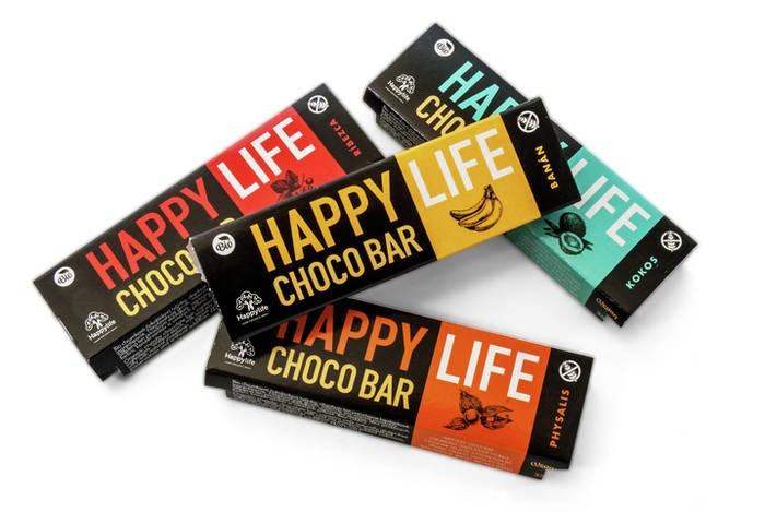 LOGO_HAPPYLIFE CHOCO BAR - BIO Schokoriegel