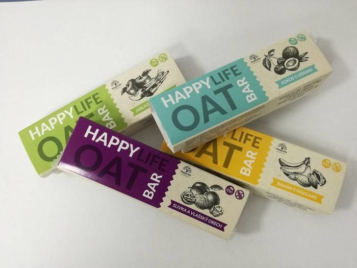 LOGO_HAPPYLIFE OAT BAR – Organic Oat Bars
