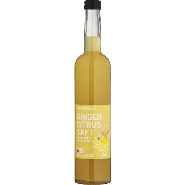 LOGO_Naturfrisk Ginger Citrus Sirup