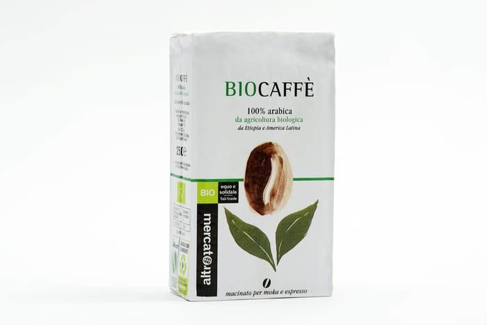 LOGO_Caffè 100% arabica Biocaffè in grani - bio