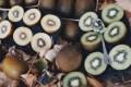 LOGO_Organic Kiwi gold and green