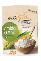 LOGO_Organic Corn starch gluten free, vegan 120g