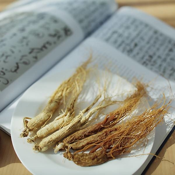 LOGO_Organic white/red ginseng entire roots有机白/红全须