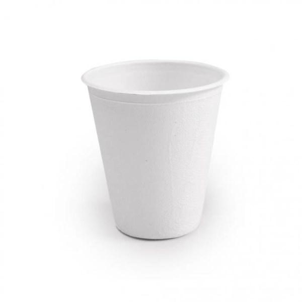 LOGO_Bio Kaffeebecher aus Zuckerrohr