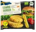 LOGO_Organic vegan vegetable burger