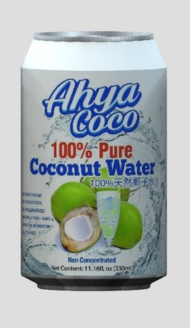 LOGO_Organic canned coconut water