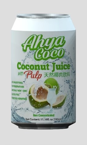 LOGO_Organic coconut juice with pulp